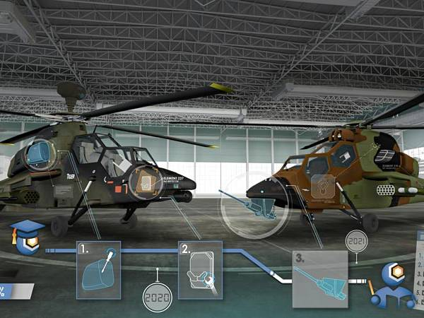 Complete renewal of the maintenance training means for the TIGER helicopter